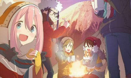 New Laid-Back Camp Visual Chills Out by the Campfire