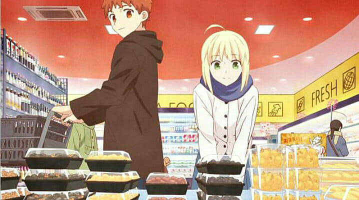 """Today's Menu for Emiya Family"" Intro Sequence Hits the Web"