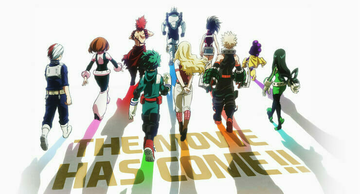 My Hero Academia Gets Second Movie Project