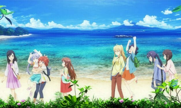 Non Non Biyori Vacation Gets a New Key Visual