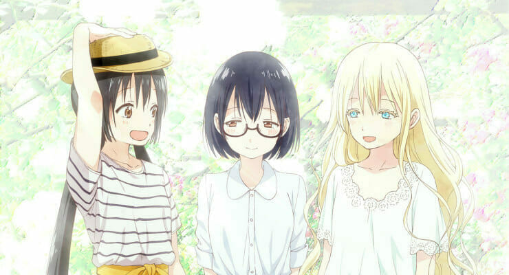 Asobi Asobase Gets a New Trailer & Key Visual