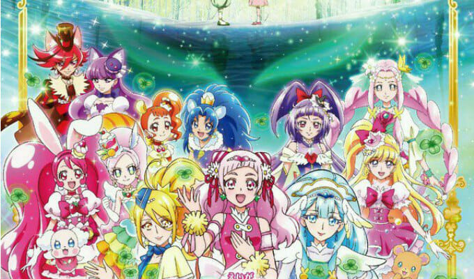 Eiga Precure Super Stars! Gets New Trailer & Character Visual