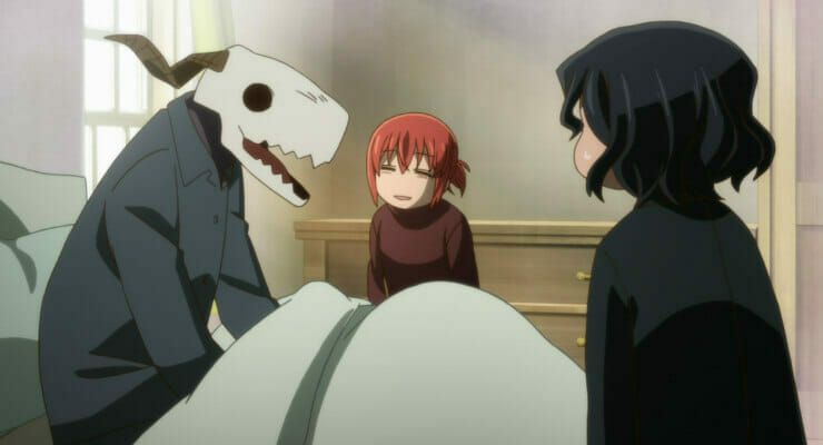 The Herald Anime Club Meeting 57: The Ancient Magus' Bride, Episode 18; School Babysitters Episode 5