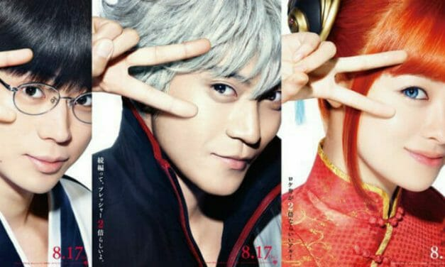 Gintama 2 Live-Action Movie Gets 10 Teaser Clips