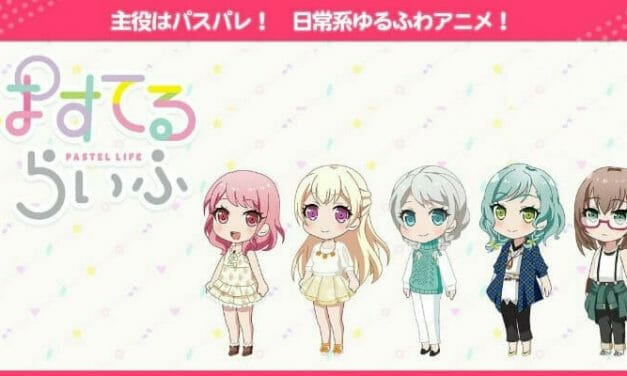 BanG Dream! Spinoff Anime Pastel Life Launches on 5/17/2018