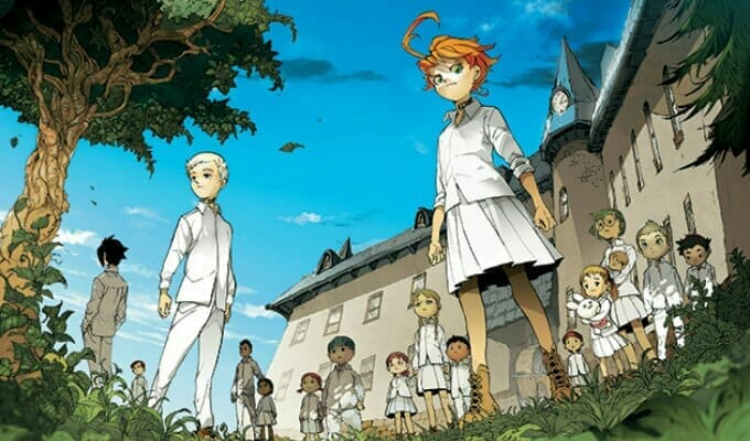 The Promised Neverland Anime Gets First TV Spot