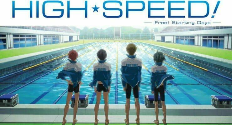 "Christopher Llewyn Ramirez, Lee George Join ""High Speed! -Free! Starting Days-"" Dub Cast"