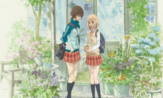 """Kase-san And Morning Glories"" OVA Gets a New Key Visual"