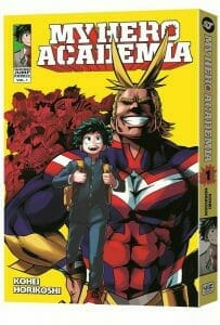 My Hero Academia Manga Volume 1 Cover