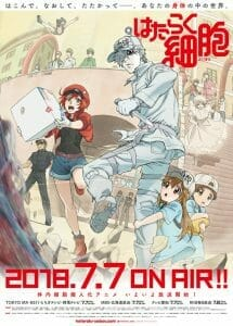 Cells At Work! Key Visual