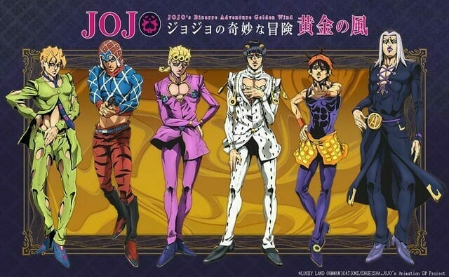 Viz Media Licenses JoJo's Bizarre Adventure: Golden Wind Anime
