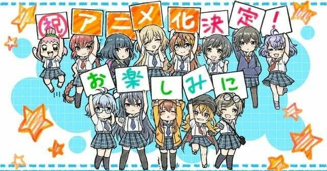 Hachigatsu No Cinderella Nine Anime Gets First 6 Cast