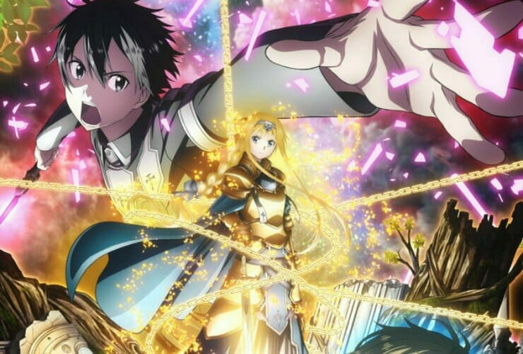 Funimation Streams Sword Art Online: Alicization, Plus Sword Art Online I and II