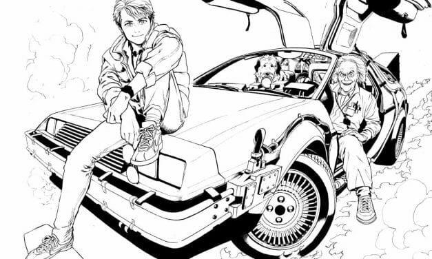 "Yuusuke Murata's ""BTTF"" (Back to the Future) Manga Cancelled"