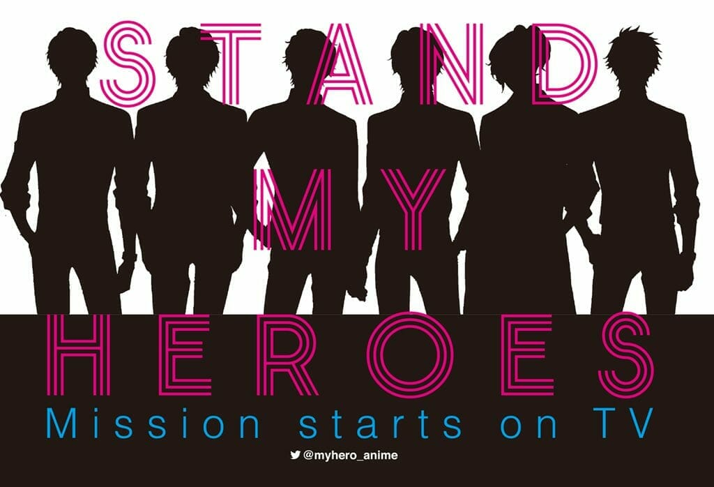 """""""Stand My Heroes"""" Anime Gets Character Visual for Itsuki Aoyama"""