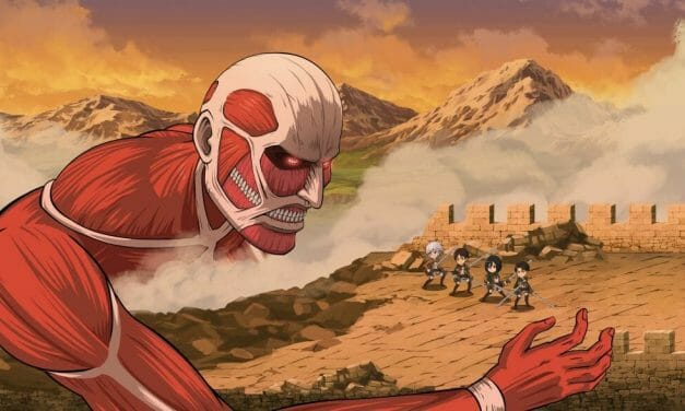 Crunchyroll Announces Attack on Titan/DanMemo Collaboration Event