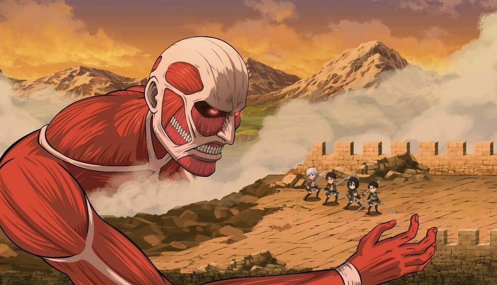Crunchyroll Announces Attack on Titan/DanMemo Collaboration Event