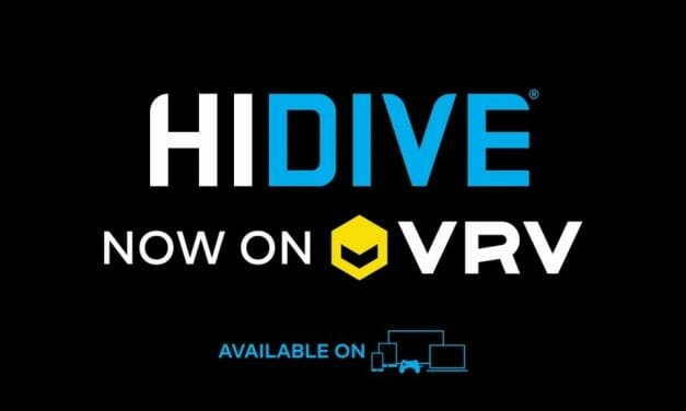 VRV Adds Entire HIDIVE Digital Library