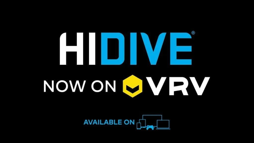 HIDIVE Channel Launches on VRV