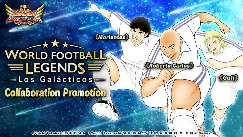 Captain Tsubasa: Dream Team Mobile Game Drafts Real Life Stars for Special Event