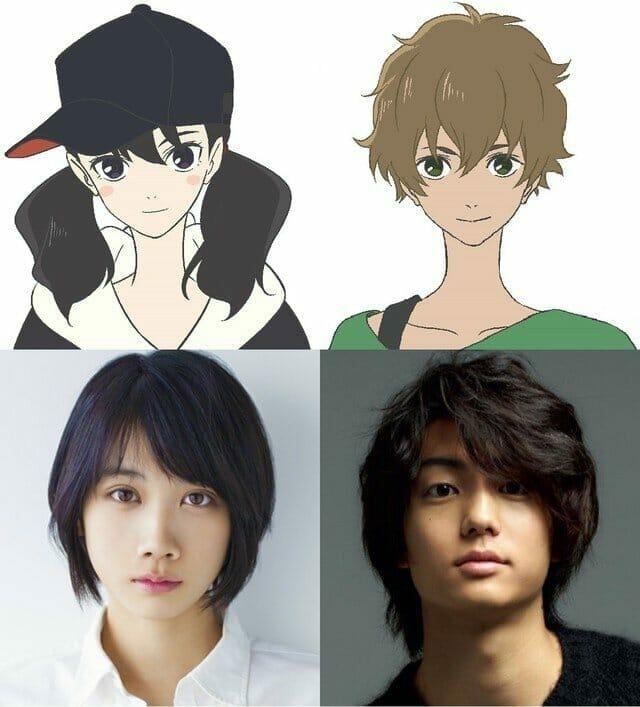 Kimi to Nami ni Noretara Character Visual - Masayo Kawamura - Yoko Hinageshi