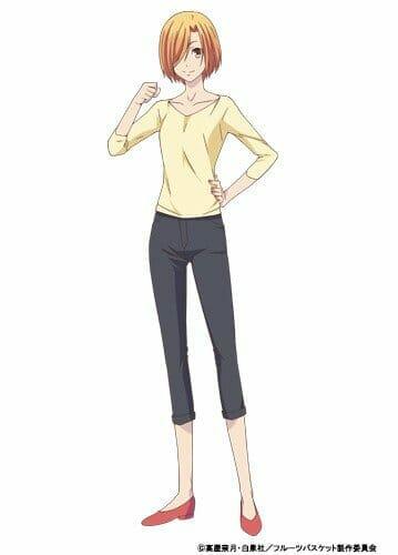 Fruits Basket Character Visual - Kyoko Honda