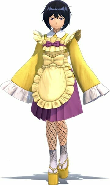 Shin Sakura Wars Character Visual - Azami Mochizuki