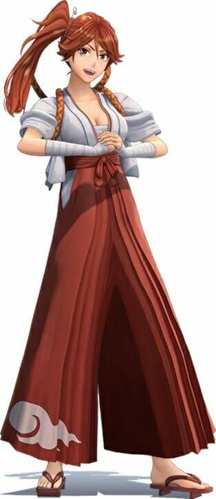 Shin Sakura Wars Character Visual - Hatsuho Shinonome