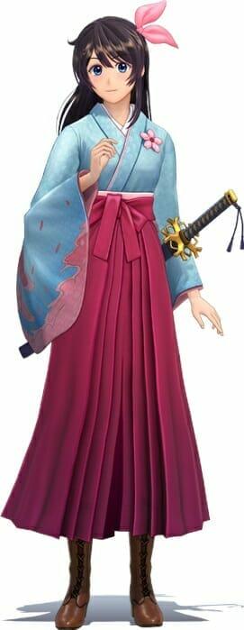 Shin Sakura Wars Character Visual - Sakura Amamiya