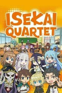 Isekai Quartet Anime Visual
