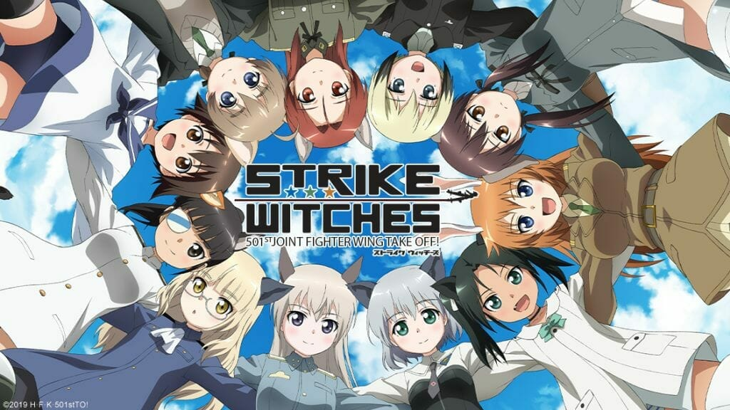Strike Witches - 501st JOINT FIGHTER WING Take Off - Horizontal Visual 001 - 20190424