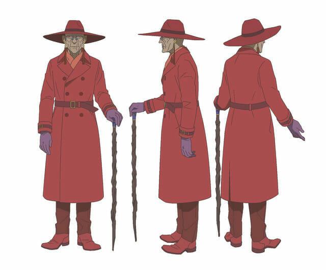 Cop Craft Anime Character Visual - Zelada