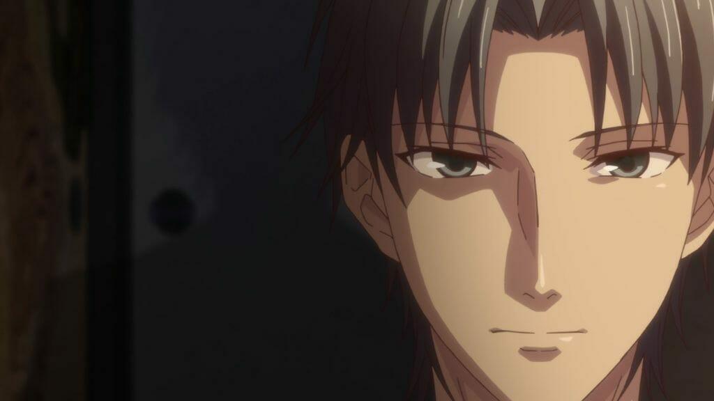 Fruits Basket (2019) Anime Still - Dimly lit face shot of Shigure Soma