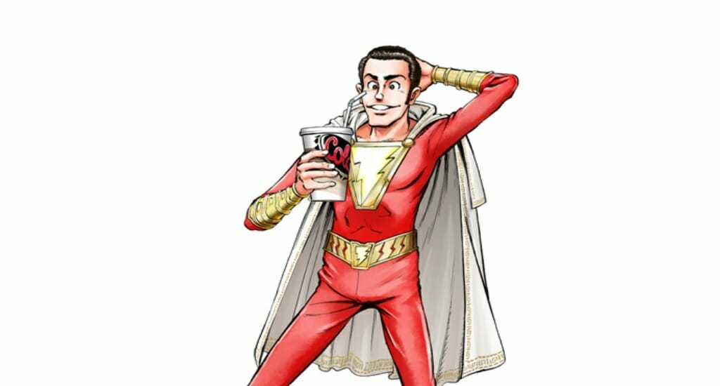 Warner Brothers Japan Unveils Shazam! Illustration By Monkey Punch
