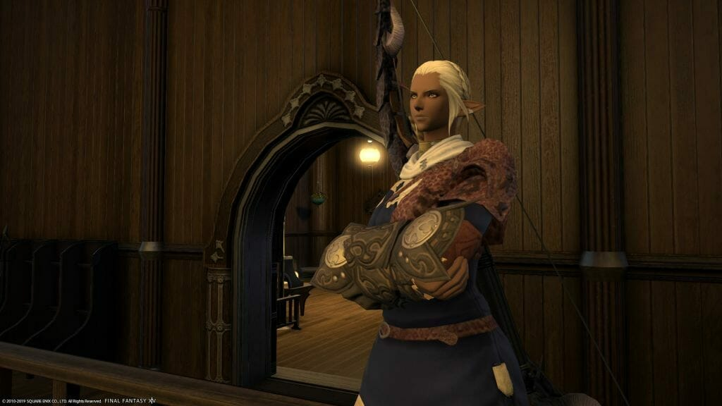 Luciane, from the Archery Guild Final Fantasy XIV