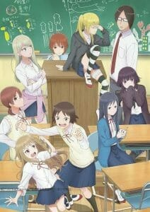 Wasteful Days of High School Girl Anime Visual