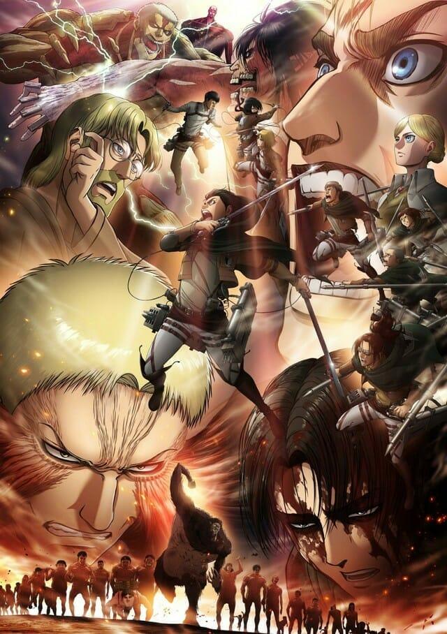 Attack on Titan Season 4 Visual