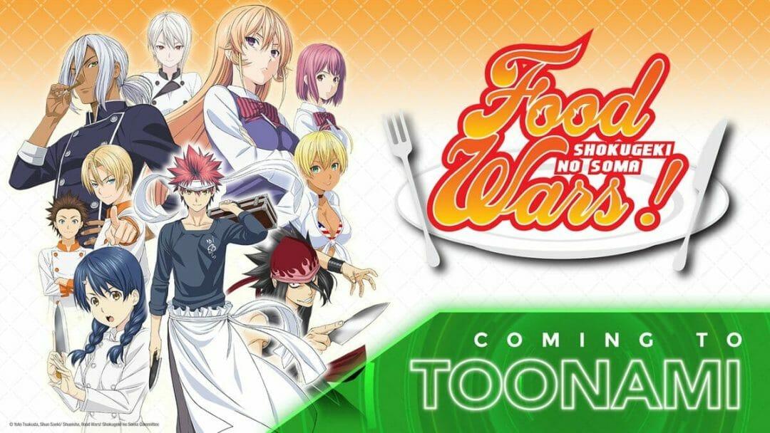 Food Wars Toonami Visual