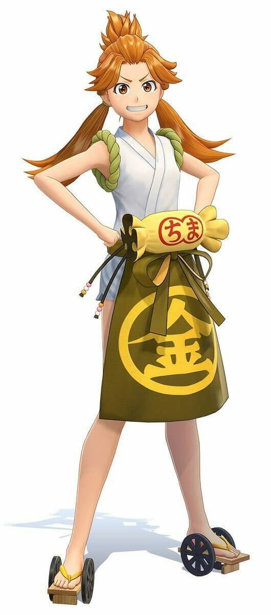 Project Sakura Wars Character Visual - Komachi Ooba