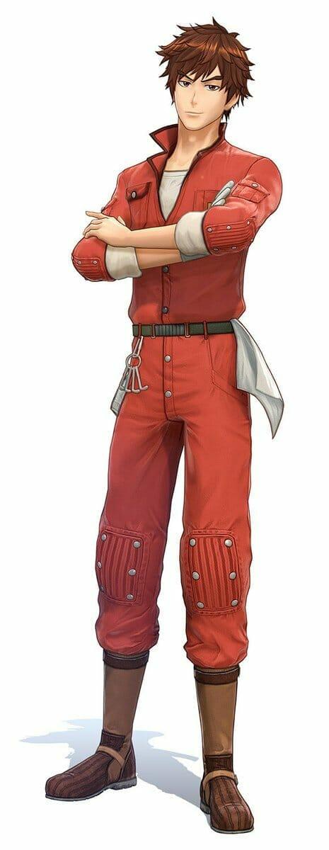 Project Sakura Wars Character Visual - Reiji Shiba