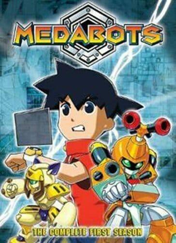 Medabots DVD Boxart