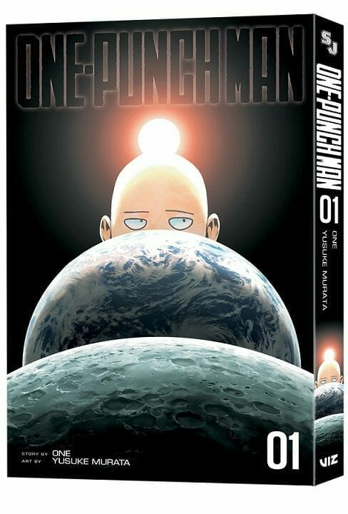 One-Punch Man Manga Volume 1 - Comic-Con Exclusive Cover