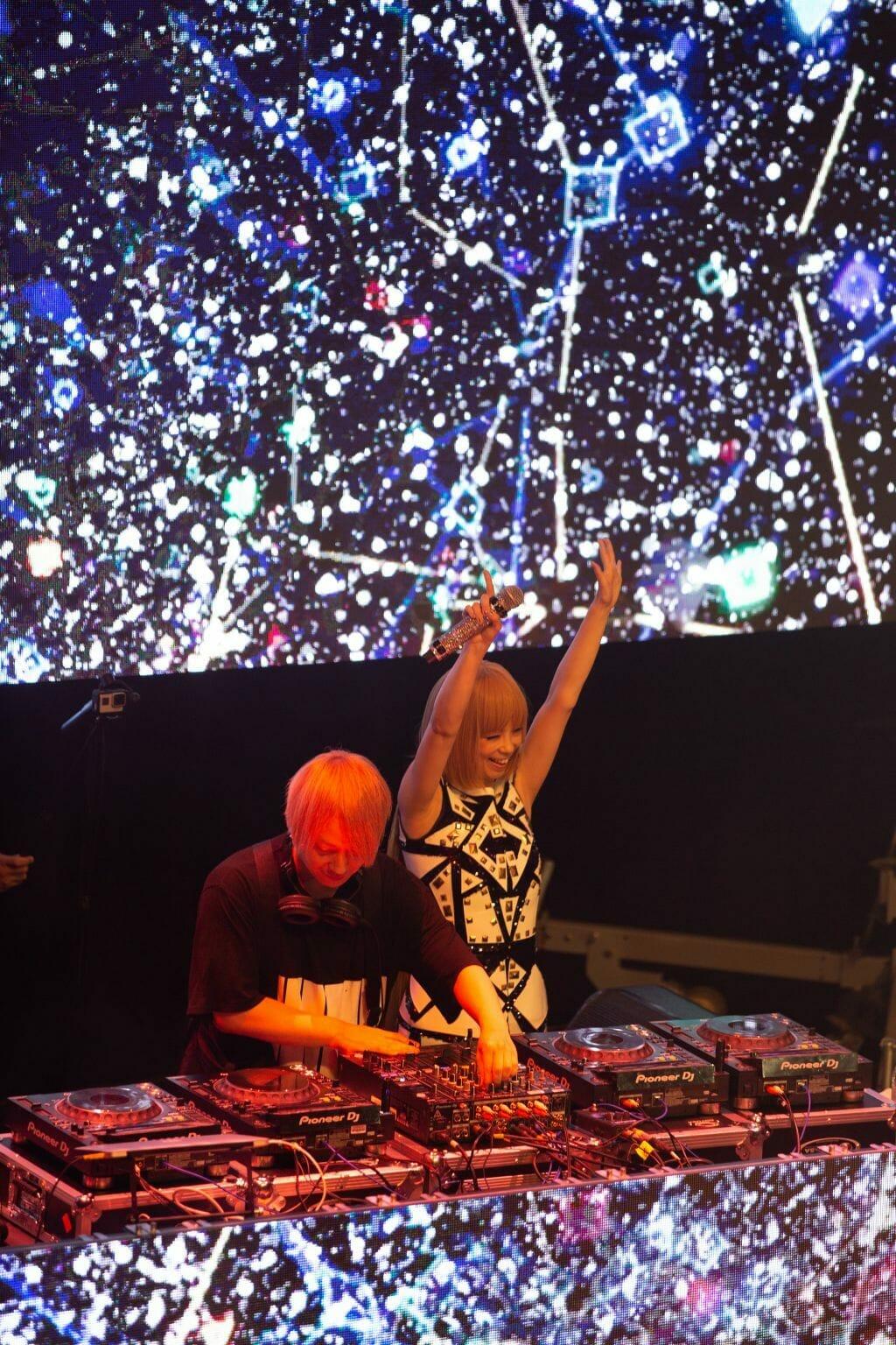 Lisa performs At Otaquest 2019 At LA Live