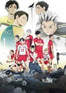 Haikyuu OVA Key Visual