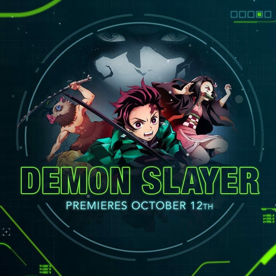 Demon Slayer - Kimetsu no Yaiba Toonami Visual