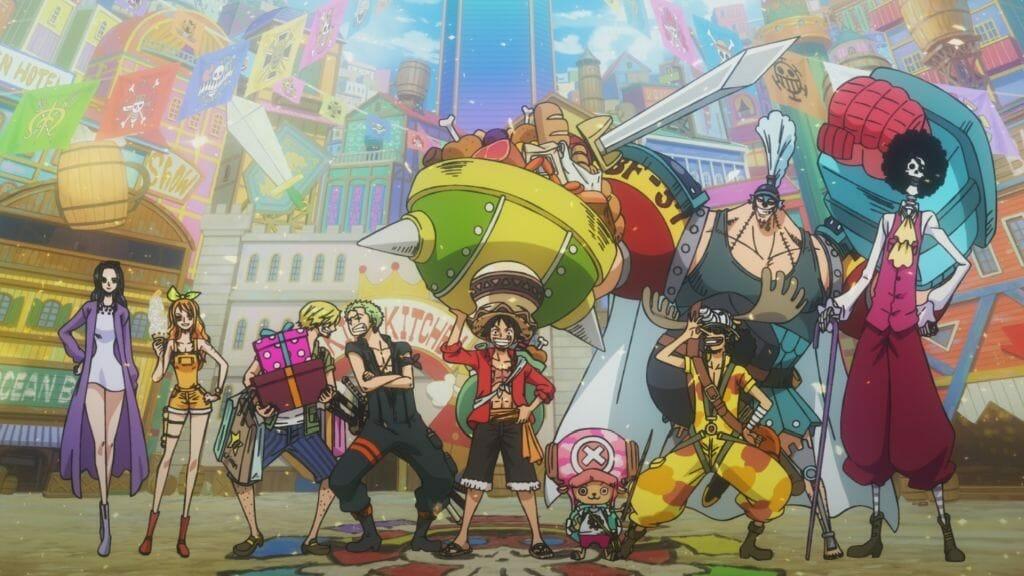 Funimation Streams One Piece: Stampede Dub Trailer