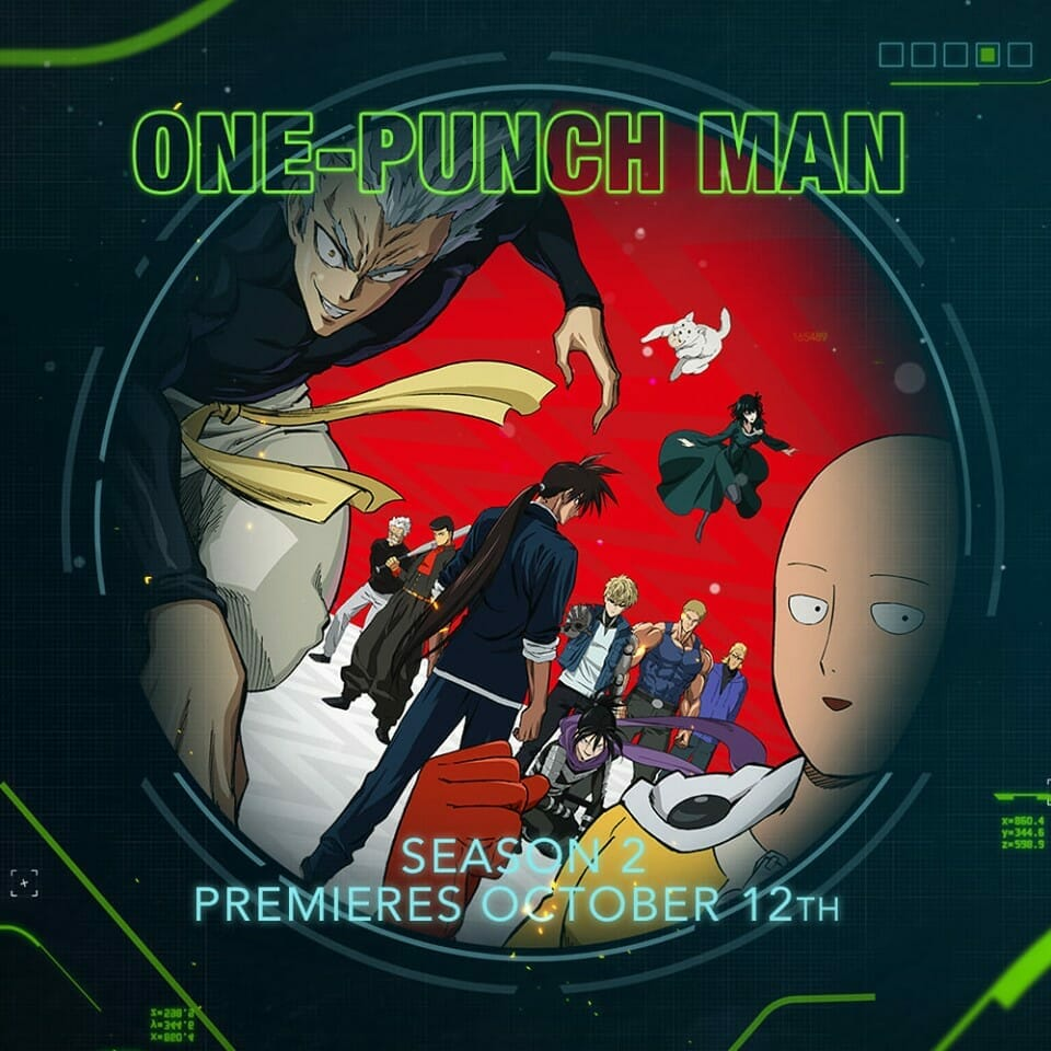 One-Punch Man 2 Toonami Visual
