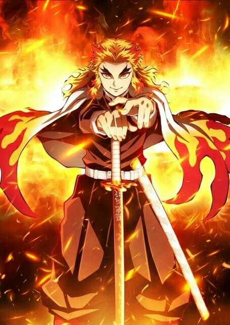 Demon Slayer - Kimetsu no Yaiba Movie Visual