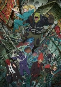 Dorohedoro Anime Visual