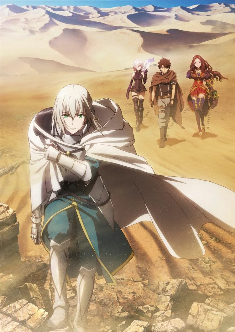 Fate Grand Order Camelot Movie Previews Bedivere In New Trailer Visual Anime Feminist